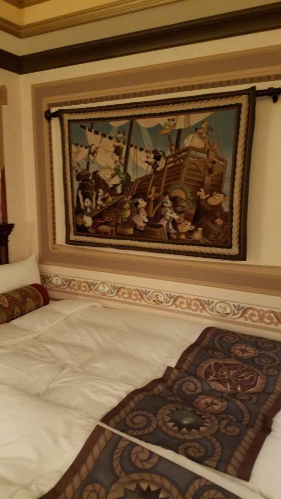 ホテルミラコスタ客室内/一例