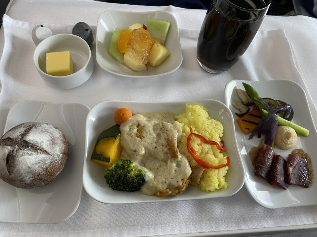 ルフトハンザドイツ航空 機内食②