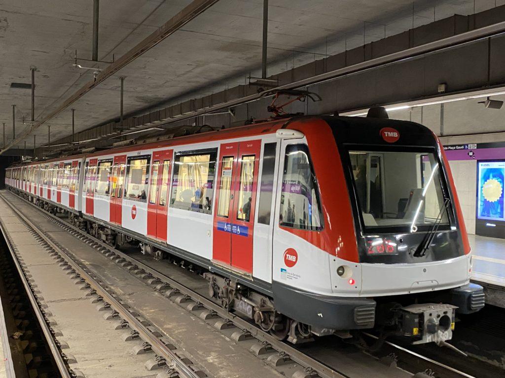 バルセロナ市内地下鉄