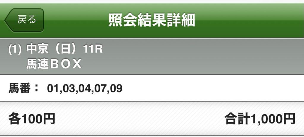 きさらぎ賞5頭BOX