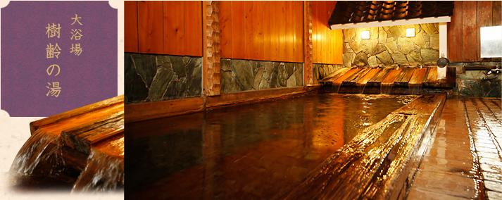 大浴場樹齢の湯