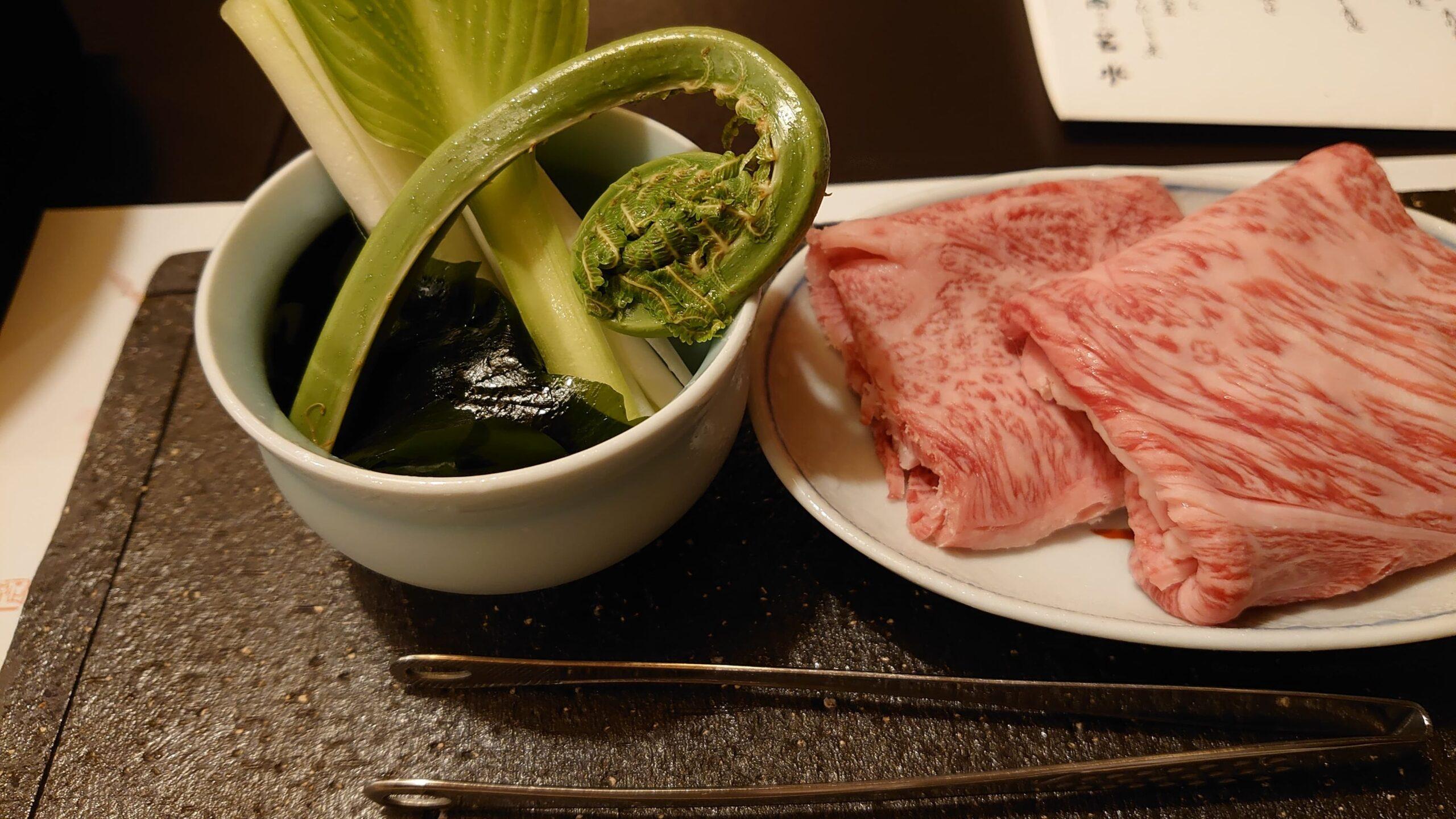 神戸牛すき焼き②