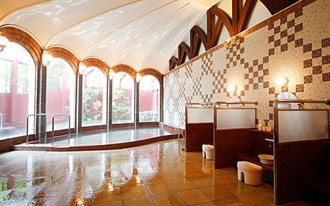 雲仙観光ホテル大浴場