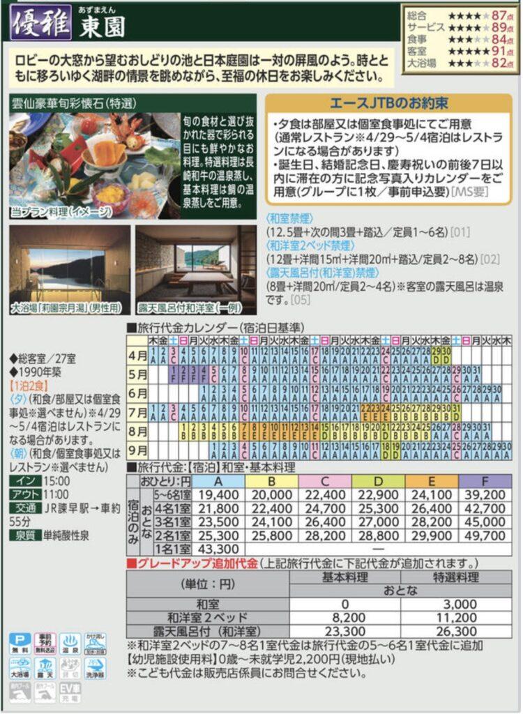 JTBデジタルパンフレット