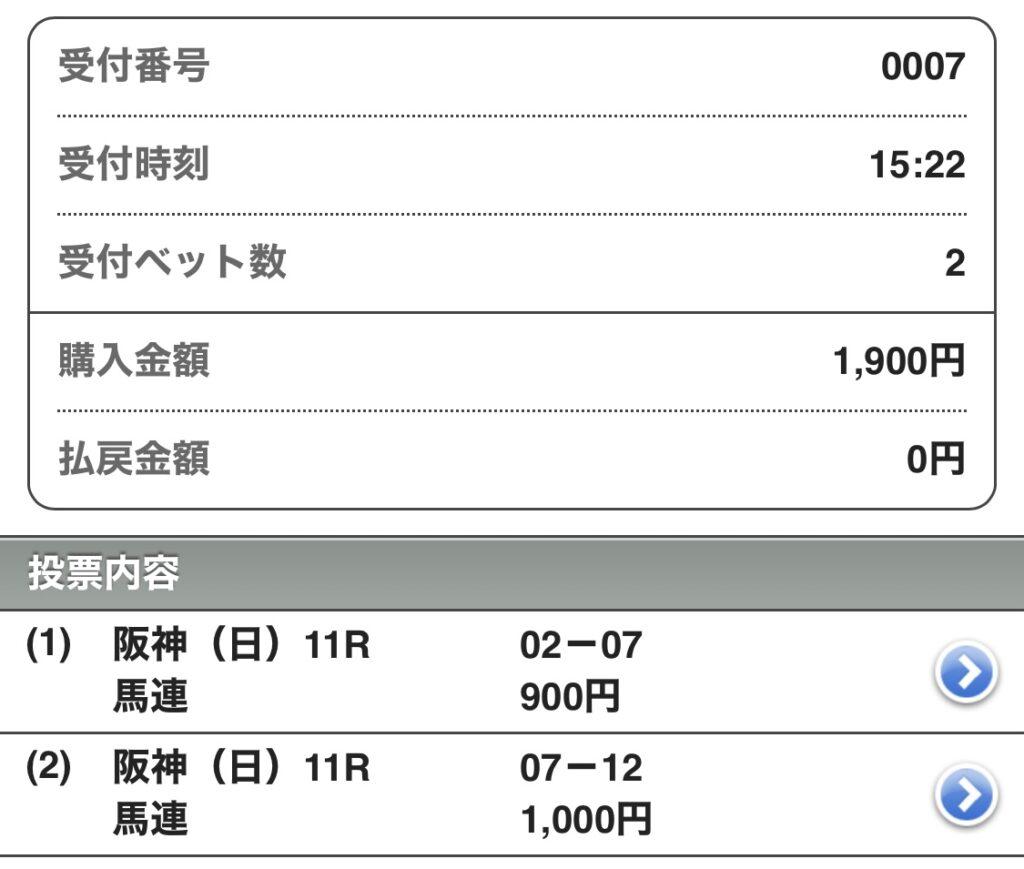 大阪杯買い目