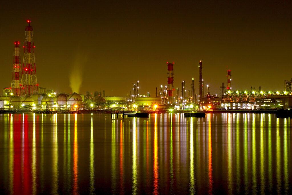 大阪 堺市 高石市 工場 夜景 旅行 旅行会社 阪神高速 湾岸線