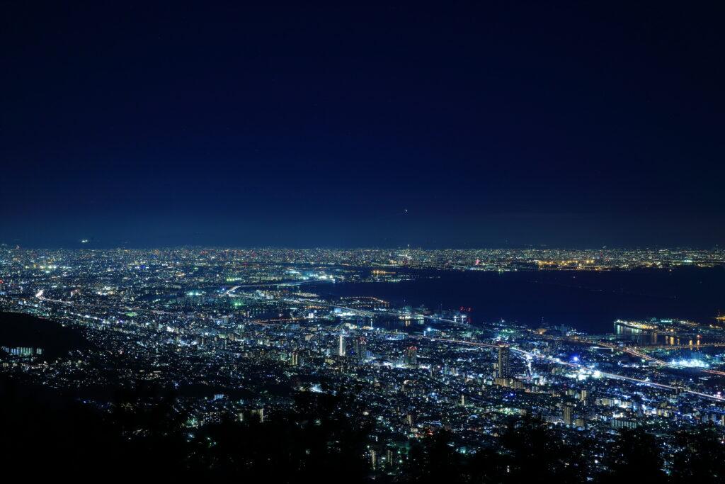 兵庫県 神戸 摩耶山 夜景 日本三大夜景