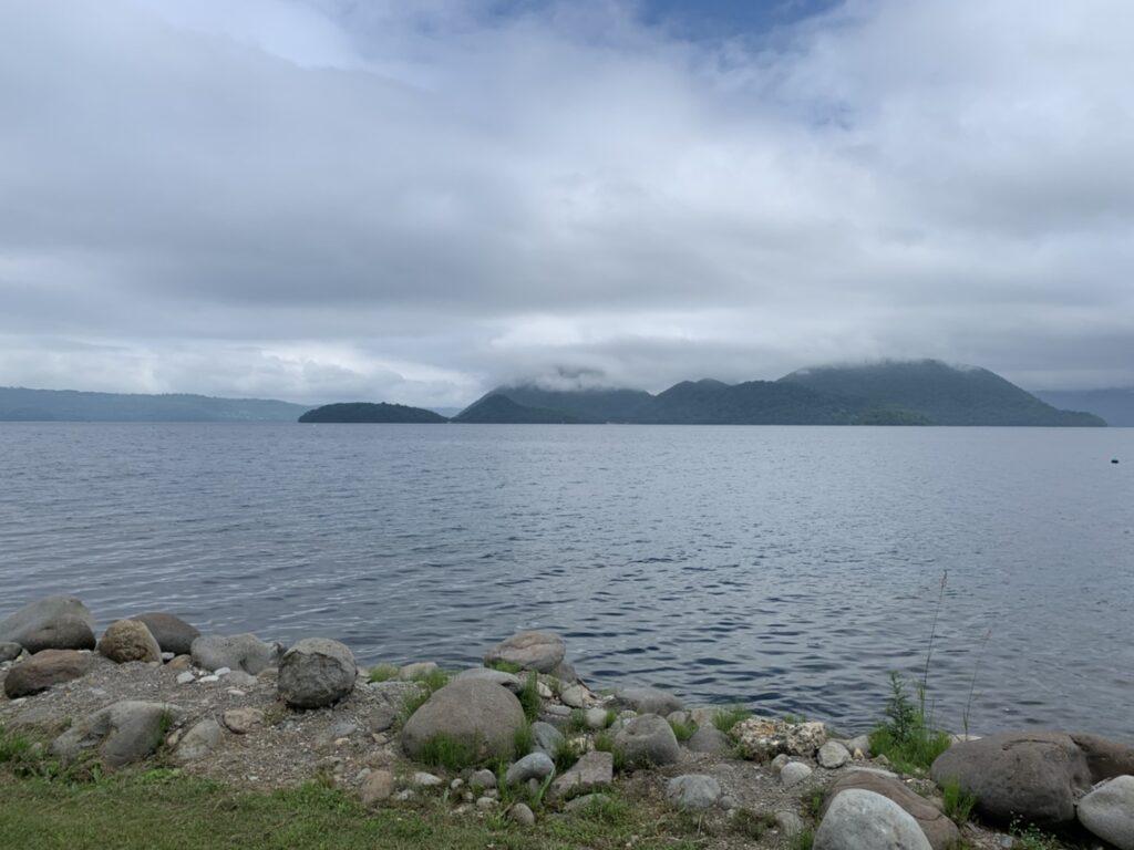 洞爺湖 眺め 湖畔